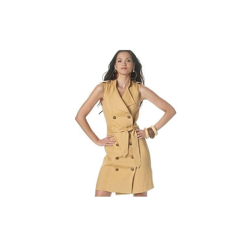 Patron Mc Calls M6279 : Robe et ceinture Taille : 46-52