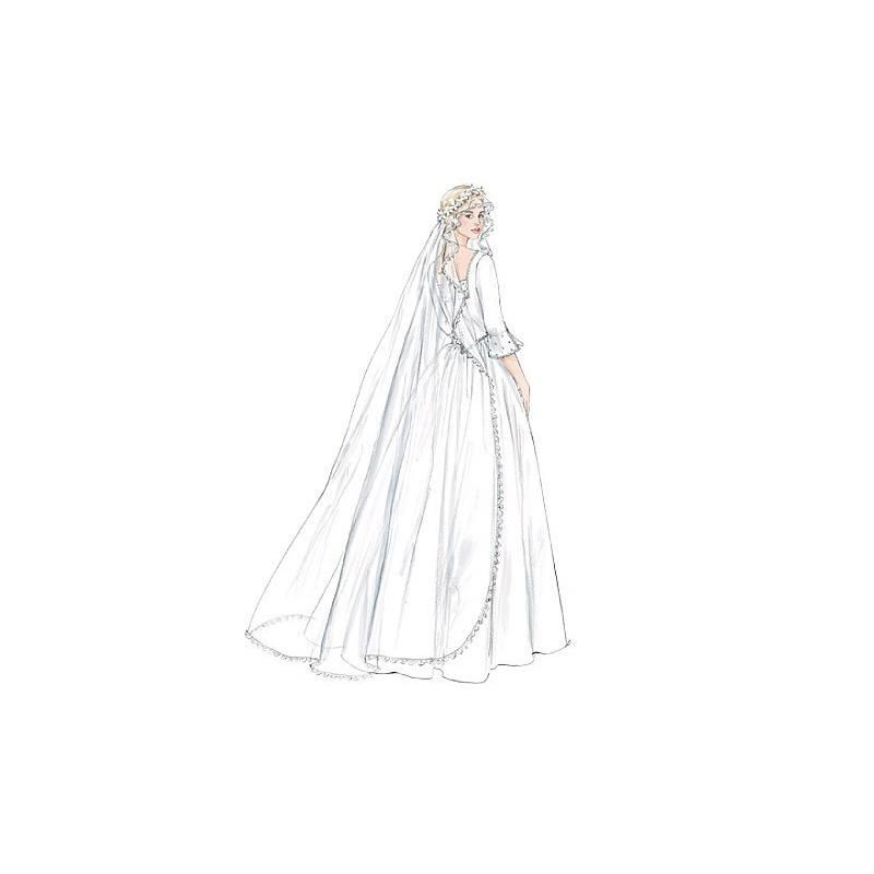 Patrons Mc Calls M4126 : Voiles de mariée