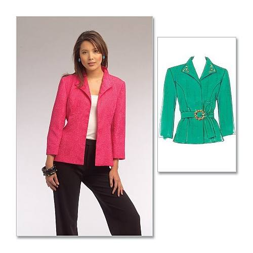 Patrons McCall's M5668 : Veste coupe princesse Taille : 36-48