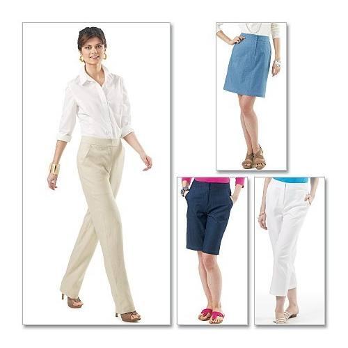 Patron Mc Calls M6361 : Pantalon, short et jupe Taille : 36-44