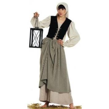 Patron Burda N°2457 Carnaval : Robe, veste, gilet Taille : 36-48