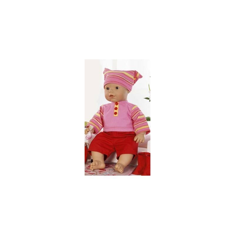 Patron N°7903 Burda créative : Robes de poupées