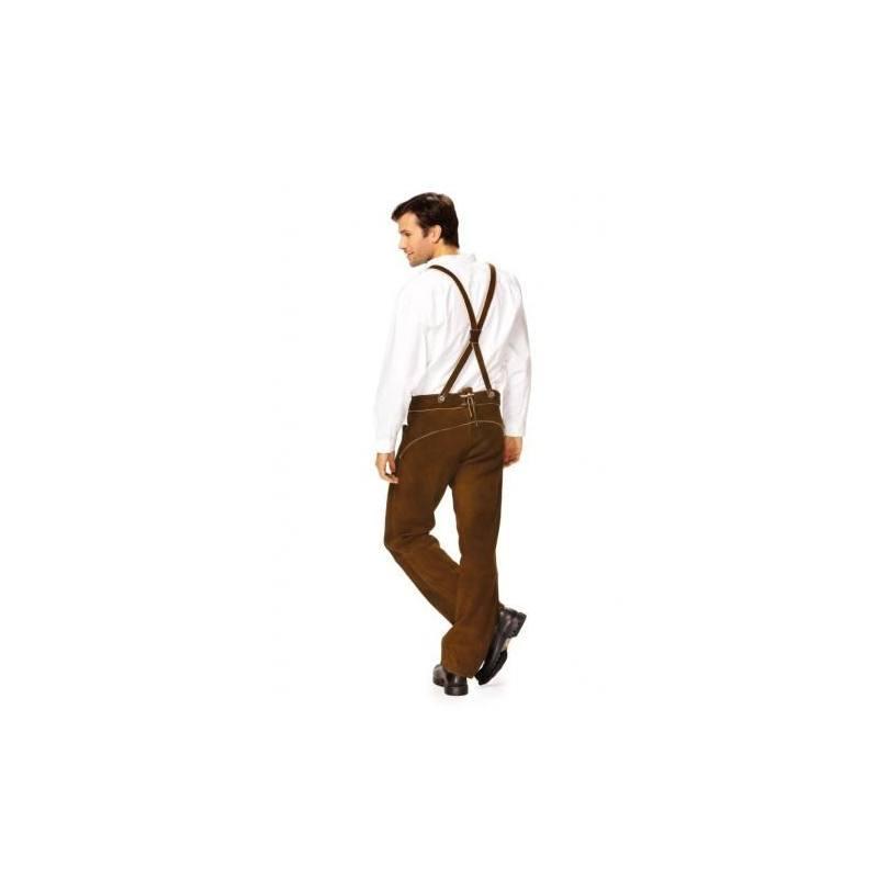 Patron N°7290 Burda : Pantalon avec bretelles Taille : 50-60
