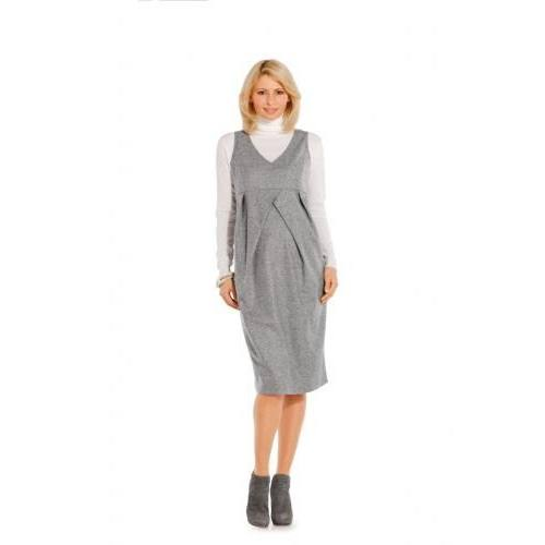 Patron N°7320 Burda : Robe décolletée Taille : 38-50