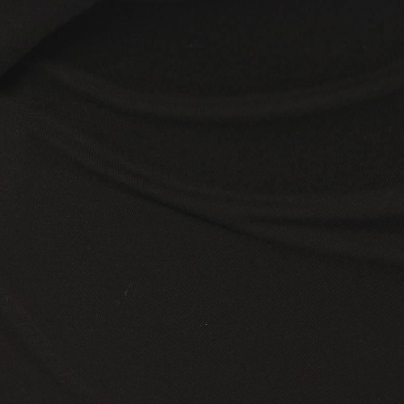 Jersey viscose uni noir