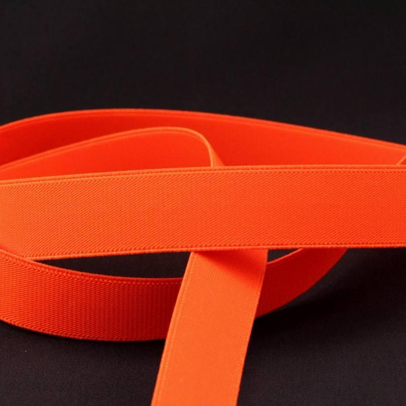 Elastique ceinture orange fluo