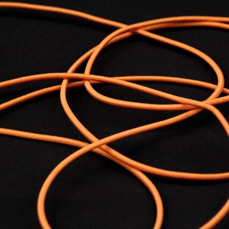 Cordon élastique 2 mm - saumon