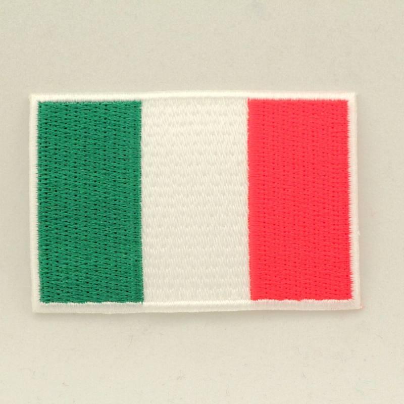 "Ecusson ""Drapeau Italie"" thermocollant"