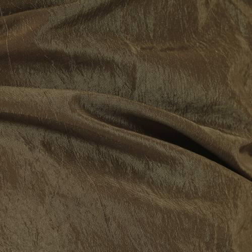 Taffetas uni plissé taupe