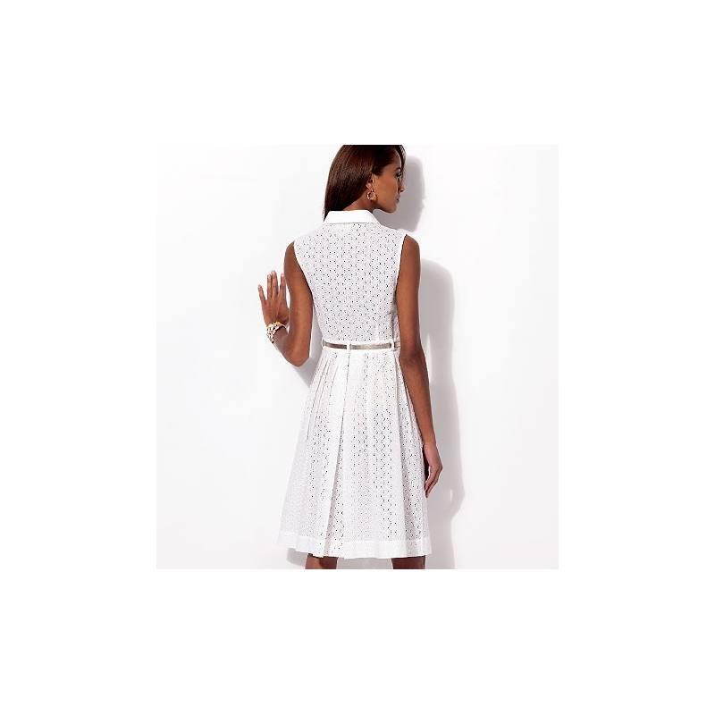 Patron de robes et dessous de robe - McCall's 6696 Taille : 36 à 44