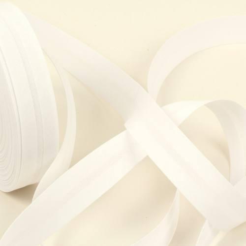 Bobine de biais 20 M - Blanc 14