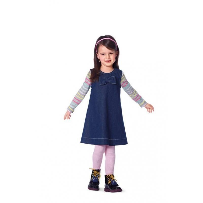 Patron N°9447 Burda kids : Robe Taille : 92 à 122 cm