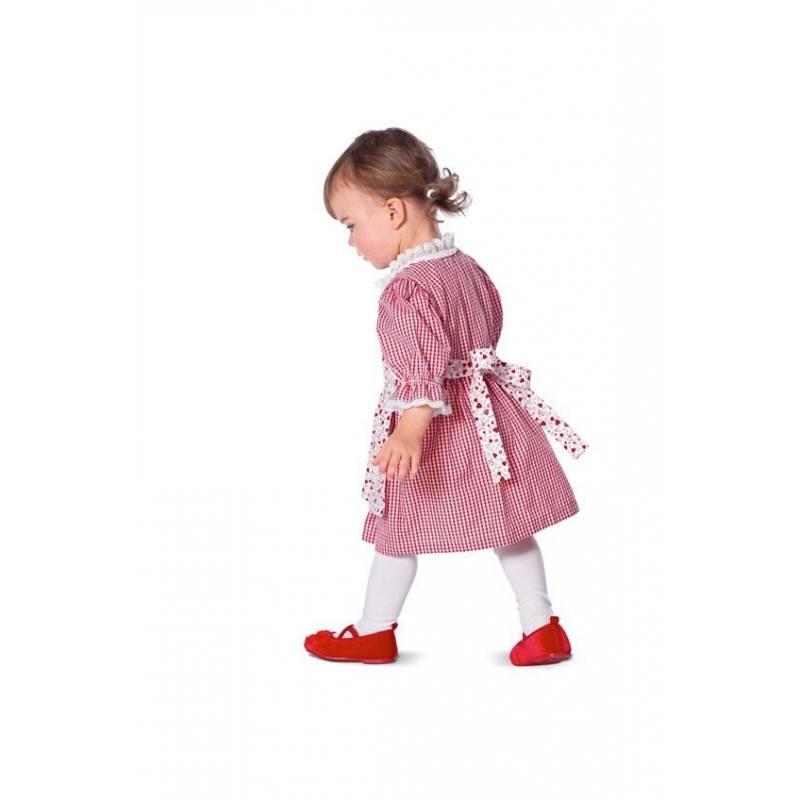 Patron N°9457 Burda kids : Robe folklore Taille : 68 à 98 cm