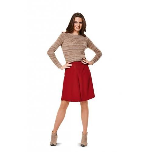 Patron Burda N°6980 Style : Jupe-culotte Taille : 34 à 46