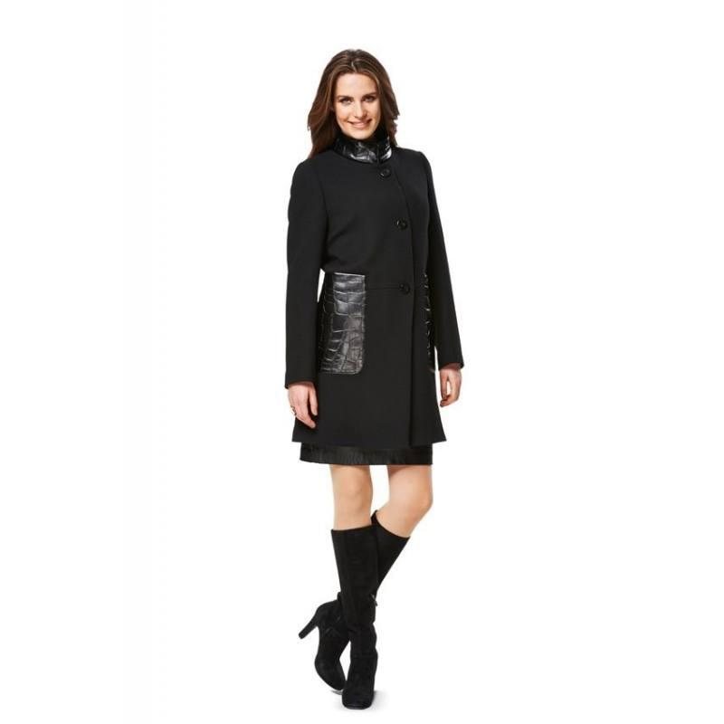 Patron Burda N°6987 Style : Manteau Taille : 36 à 50