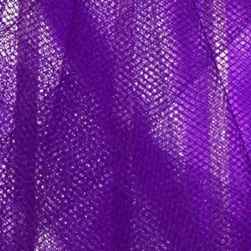 Tulle lila pour robe de mariée grande largeur