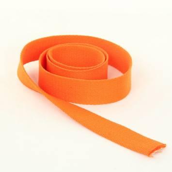 Sangle Coton 30mm orange