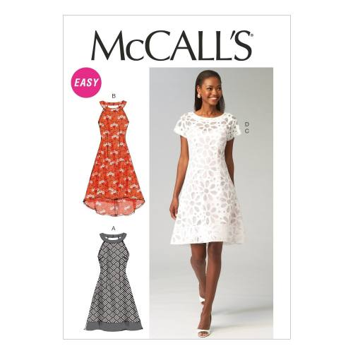Patron McCall's M6883 : Robes T42 à 50