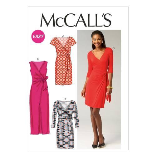 Patron McCall's M6884 : Robes T34 à 42