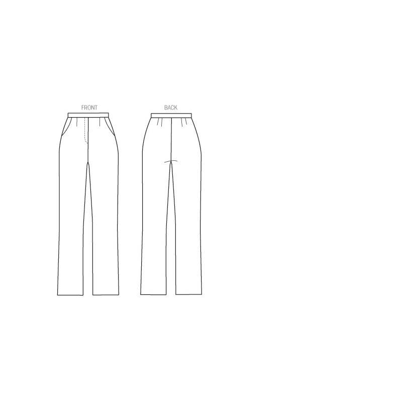 Patron McCall's M6901 : Pantalon T36 à 52