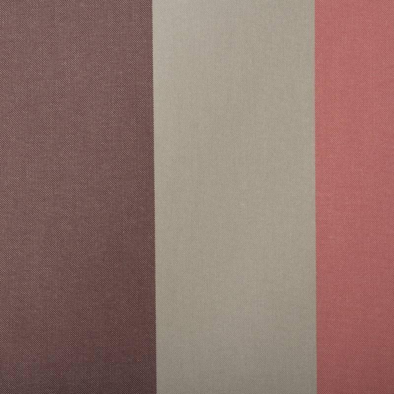 toile ext rieure t flon grande largeur ray grise rose et. Black Bedroom Furniture Sets. Home Design Ideas