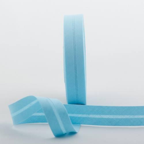 Bobine de biais 20 M - bleu 502