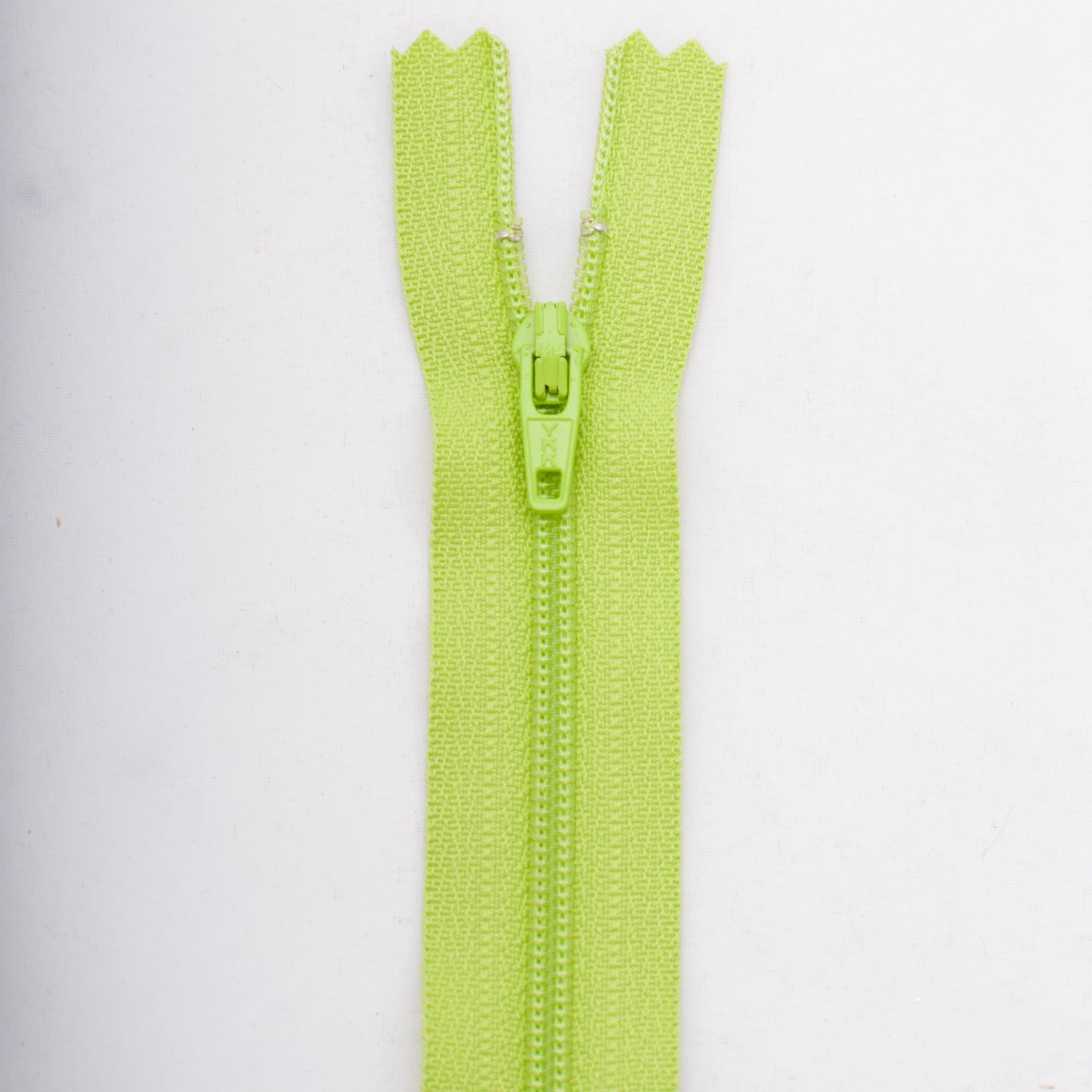 Fermeture 55 cm Polyester non séparable vert col 177