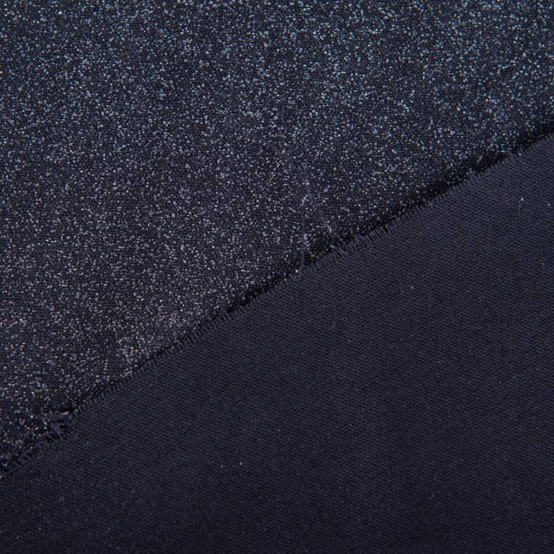 Toile thermocollante légère noire