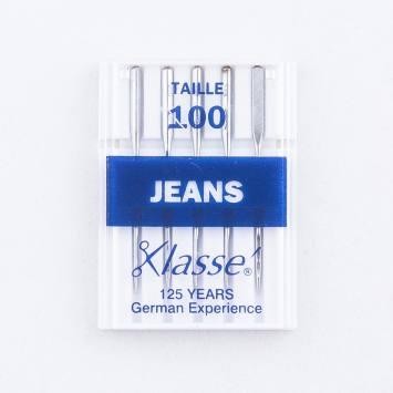 Aiguilles machines Jeans 100