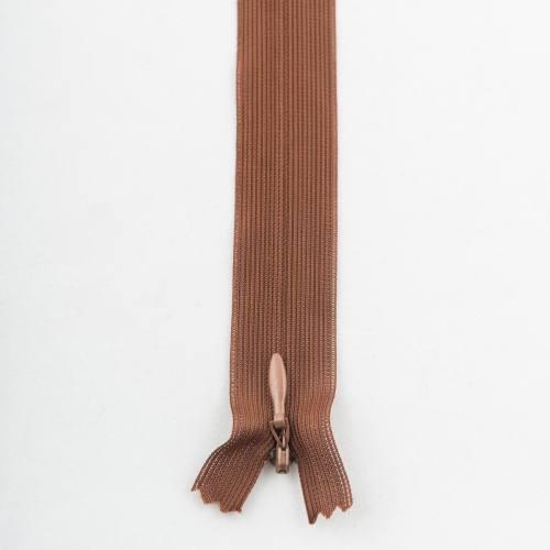 Fermeture 60 cm Col 160 à glissières invisible