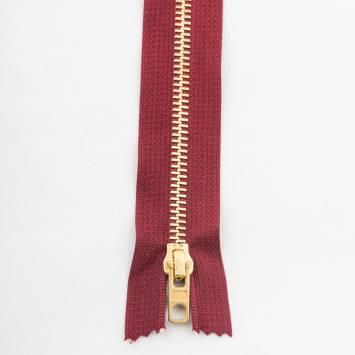 Fermeture 15 cm métal non séparable Col 116