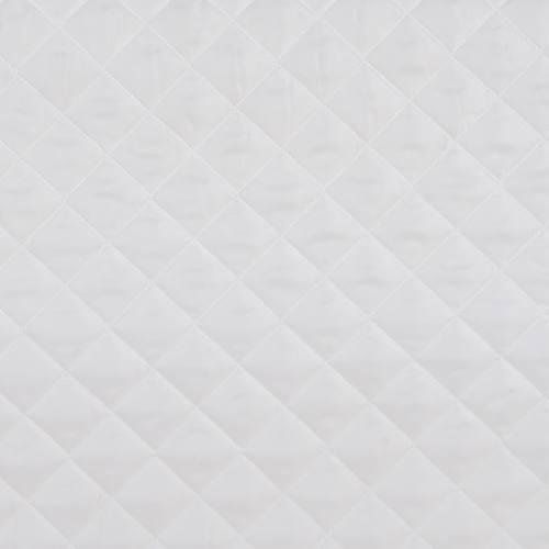 Doublure matelassé blanche