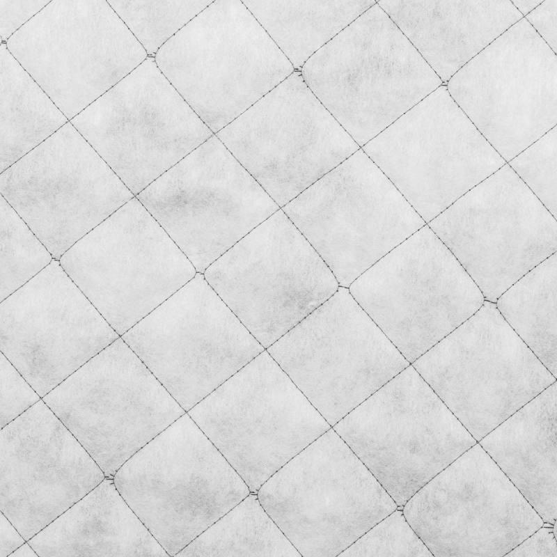 Doublure matelassée blanche