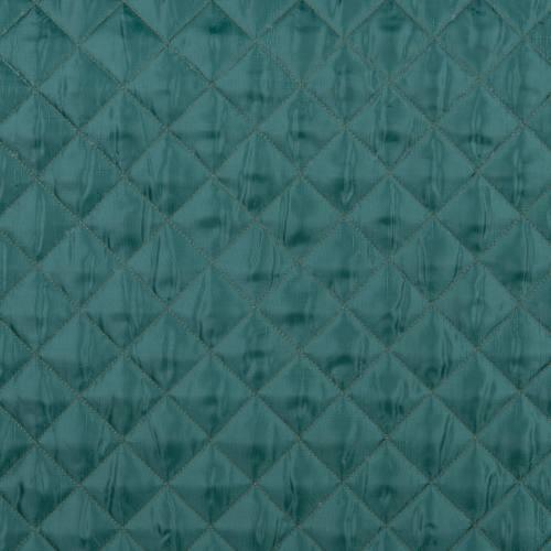Doublure matelassée vert anglais