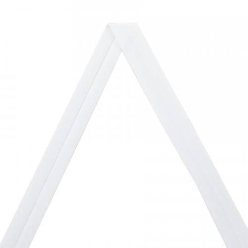 Biais jersey blanc