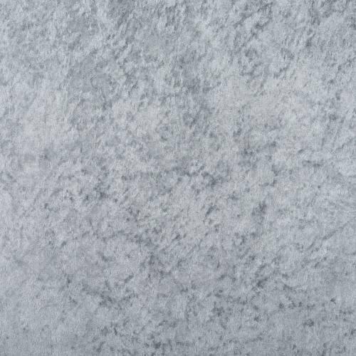 Panne de velours gris perle