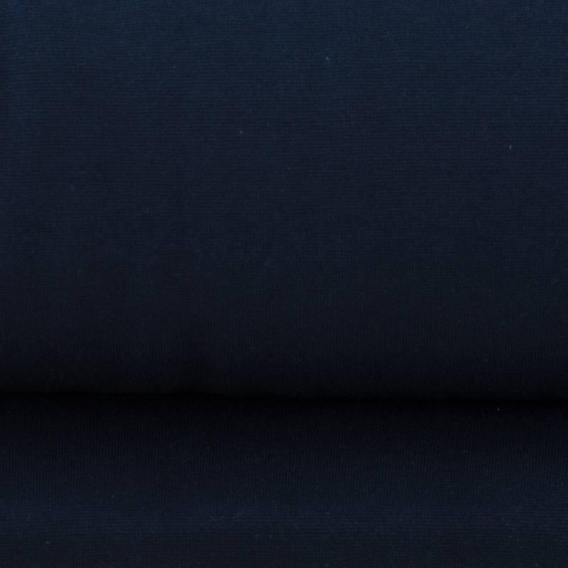Tissu tubulaire bord c te bleu fonc - Nappe bleu fonce ...