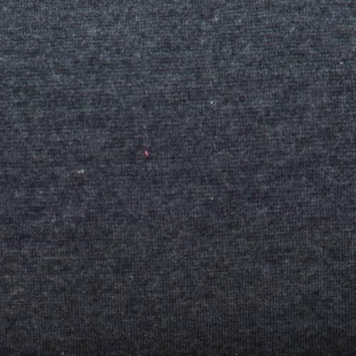 Tissu tubulaire bord-côte gris foncé