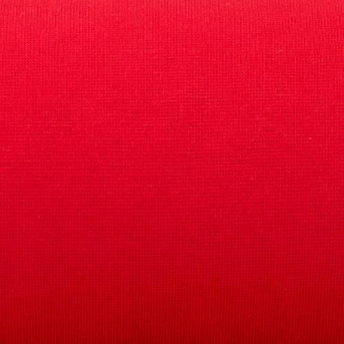 Tissu tubulaire bord-côte rouge