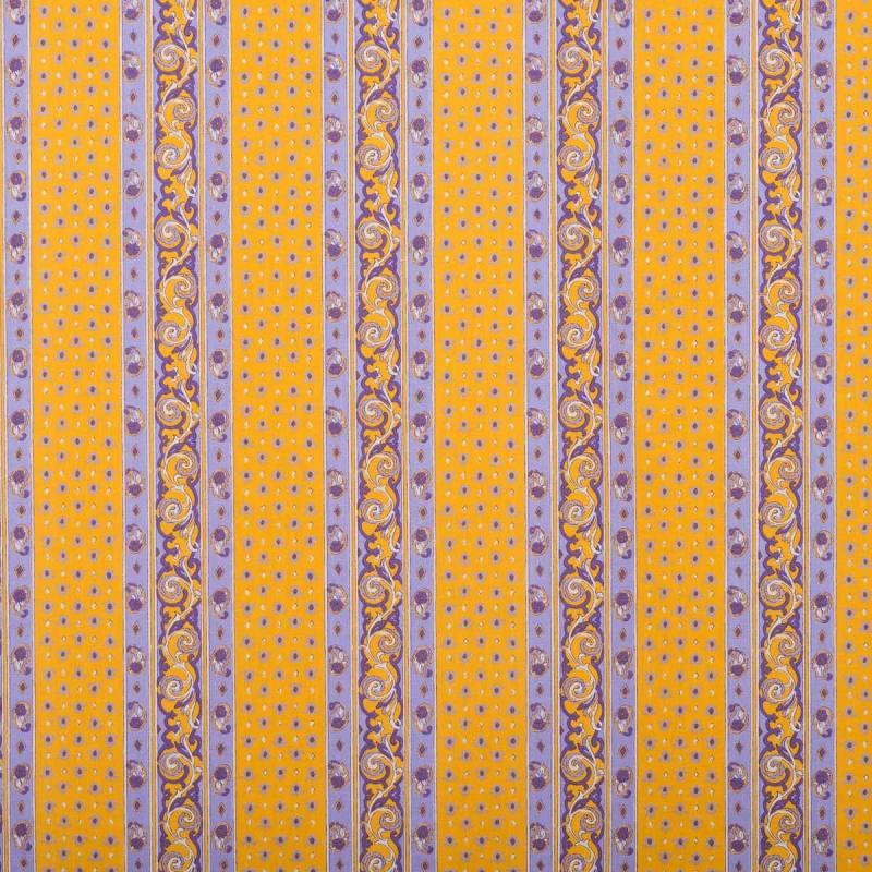 tissu proven al orange et violet rayures motif petit. Black Bedroom Furniture Sets. Home Design Ideas