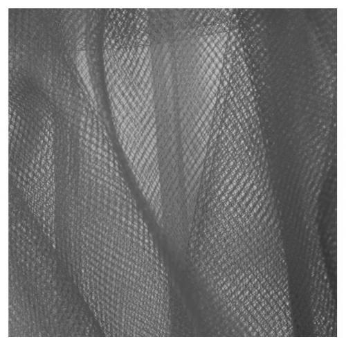 Tulle gris pour robe de mariée grande largeur