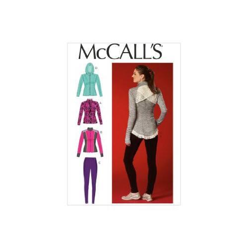 Patron Mc Call's M7026: Veste et collant Taille: 42-50