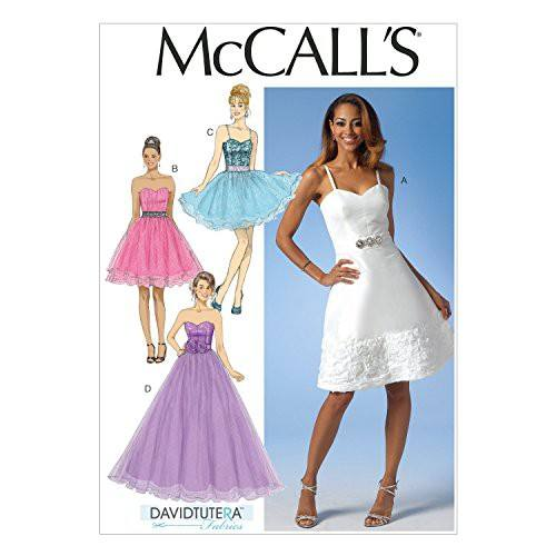 Patron Mc Call's M7049: Robe Taille: 34-42