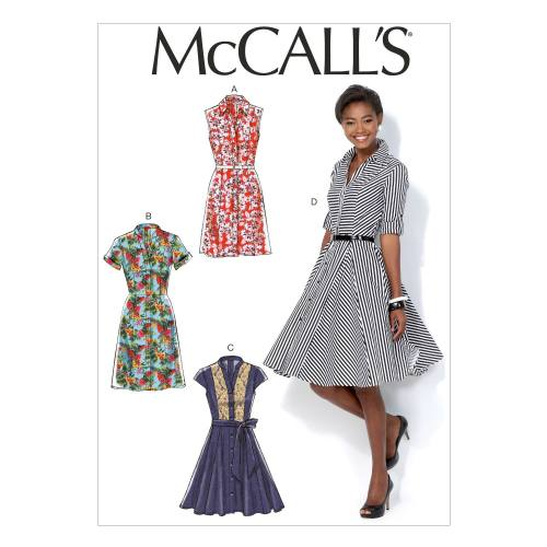 Patron Mc Call's M7084: Robe Taille: 34-42