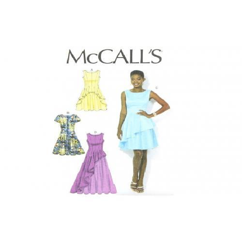 Patron Mc Call's M7091: Robe Taille: 34-42