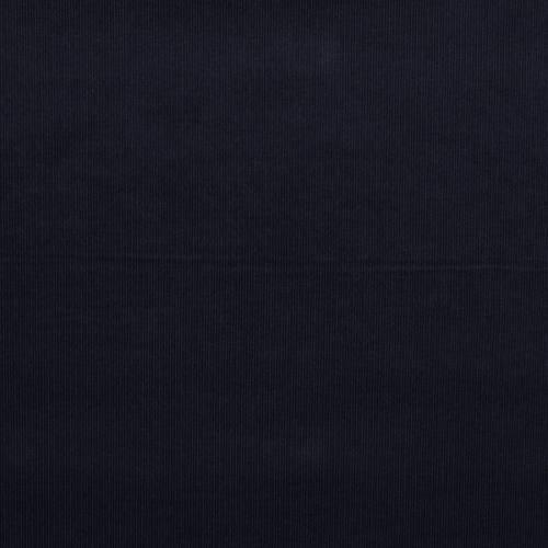 Velours côtelé fin bleu marine