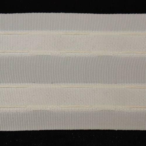 Ruban Fronceur sable - 70mm