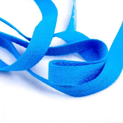 Ruban sergé bleu 11 mm