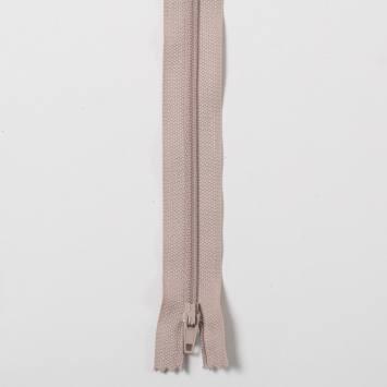Fermeture 35cm Polyester non séparable beige 156
