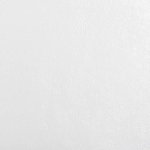 Rouleau 20m simili cuir d'ameublement blanc